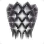 #generative #3dprinted #lampshade #design #sketch #digitalfabrication #parametric #art #architecture #structure #math #iteration #variation #light #render #3dmodel