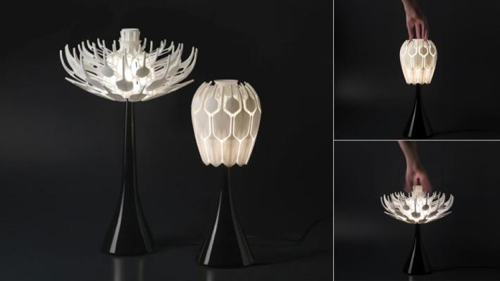 3D nyomtatott lámpabúra