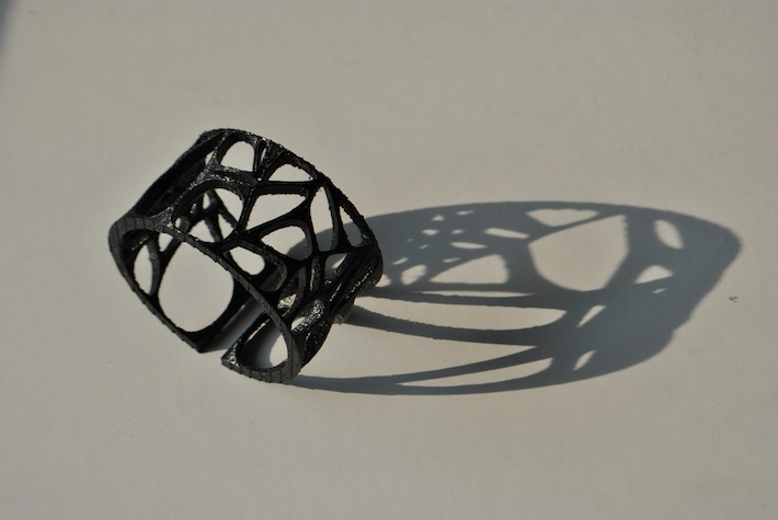 Cellular bracelet - designed and 3D printed by parametric | art