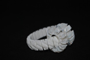 flexible structures 3D printed with flexible materials © parametric | art