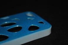 voronoi iphone case 3D printed with multiple materials © parametric | art