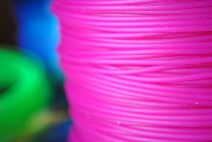 color PLA filaments © parametric | art