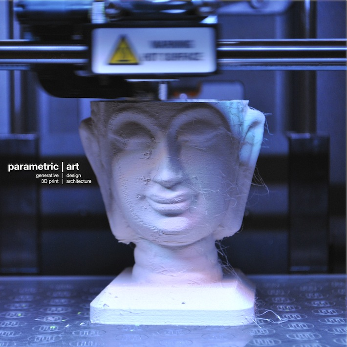 © parametric | art 3D printing with sandstone (Laybrick filament)