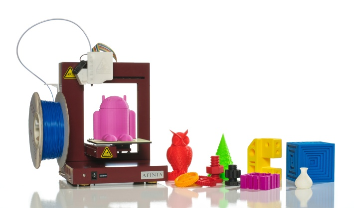 Afinia 3D Printer and Prints
