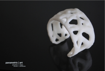 3D printed by parametric|art