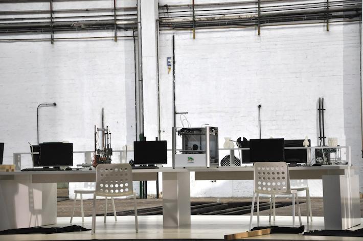 3D nyomtatók a GE reklámfilmjének forgatásán