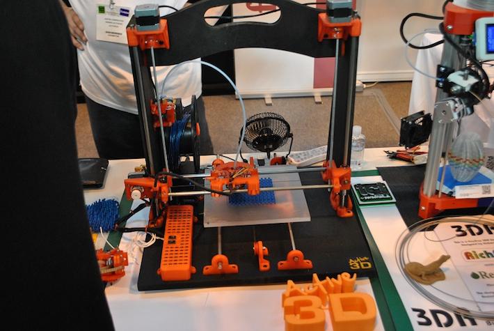 RepRap 3D nyomtató a birminghami TCT Show-n