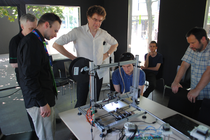 ingyenes 3d nyomtatás workshop a Design Terminal pavivolnjában