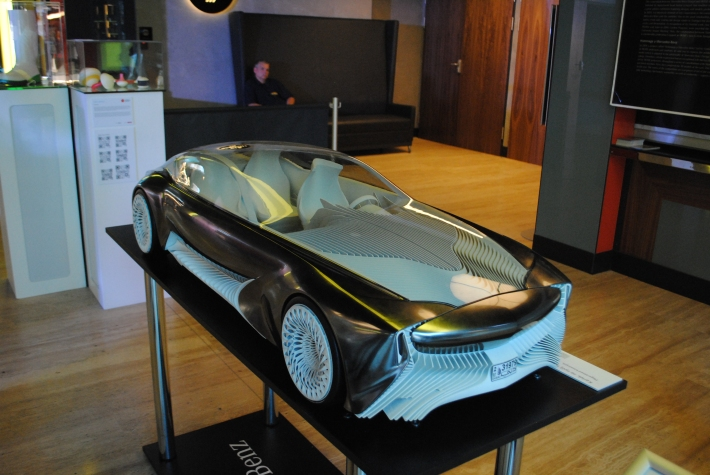 3d printed Mercedes prototype at Budapest 3D Printing Days