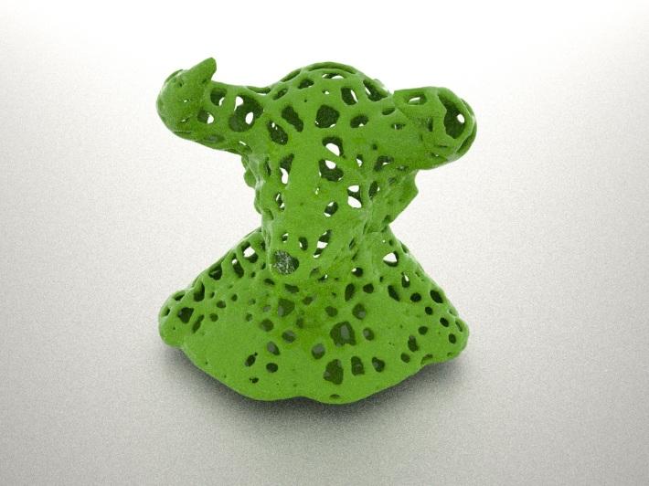 Voronoi bull designed with Meshlab