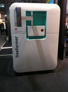 Arburg Freeformer műanyagnyomtató granulátummal