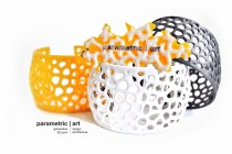 Voronoi cuff 3d nyomtatott karkötő mix (4)